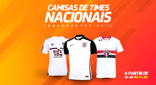 16be7cd4a0f85 Promoção Mundo do futebol  Camisas de Times Nacionais e ...